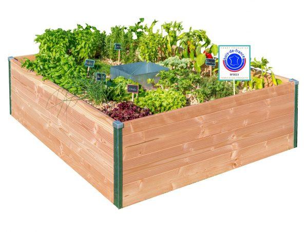 Petit modele Keyhole garden