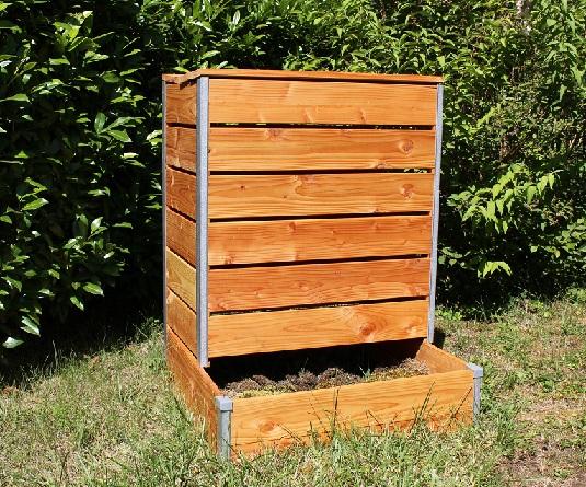 Composteur acces direct grand modele